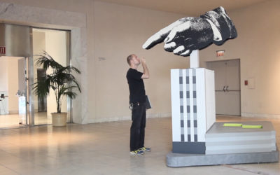 Hammer Museum, Machine Project, the Giant Hand