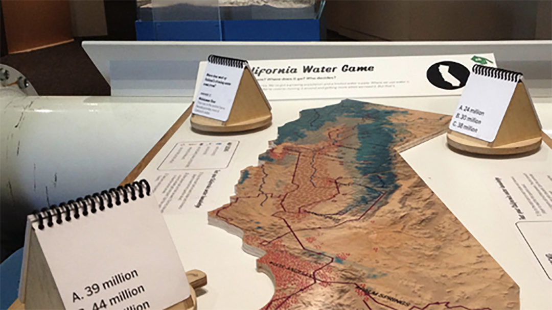 OMCA water game interactive