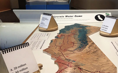 Oakland Museum of California, Natural Sciences Gallery, Water Game