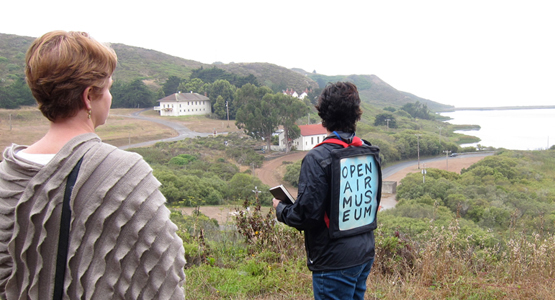 """Desire Trails, """"Open Air Museum,"""" Headlands Center for the Arts"""