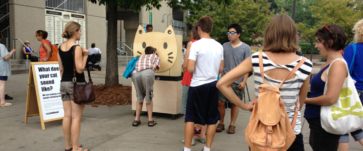 People Imitating Cats, Walker Art Center