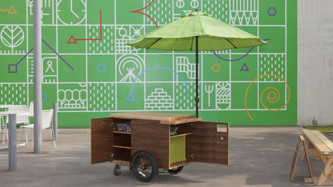 Field Lab Cart for Walker