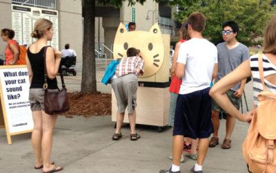 Walker Art Center, People Imitating Cats, Interactive